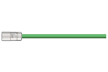 readycable® pulse encoder cable similar to Baumüller 198968 (25 m), pulse encoder base cable PVC 10 x d