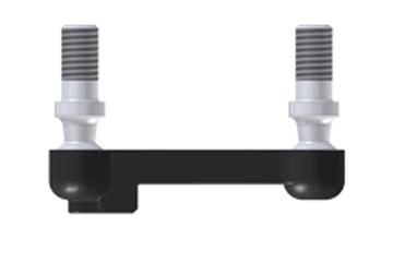 Variable coupling joint, removable at one end, WDGM, with ball stud, igubal®