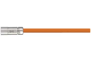 readycable® servo cable similar to Baumüller 324786 (25 m), 15 A base cable, PUR 10 x d