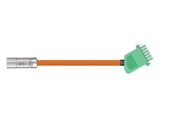 readycable® servo cable acc. to Beckhoff standard ZK4000-2111-xxxx, base cable PUR 7.5 x d