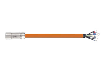 readycable® servo cable acc. to Beckhoff standard ZK4000-2112-xxxx, base cable PUR 10 x d