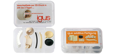 iglidur® 3D printing sample box