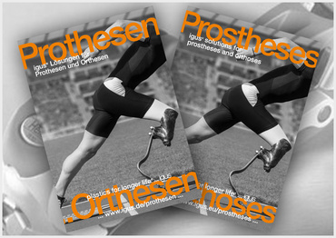 Dedicated brochure for prostheses & ortheses